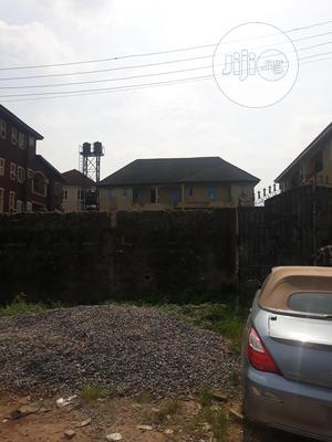 Land With a Structure of 3units of 2bedrm Flat Close to Road   Land & Plots For Sale for sale in Isolo, Ago Palace