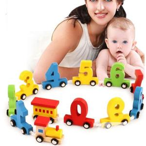 Number Wooden Educational Train Toy( FREE DELIVERY) | Toys for sale in Oyo State, Ido