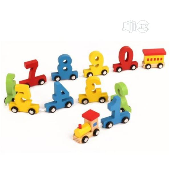 Number Wooden Educational Train Toy( FREE DELIVERY)   Toys for sale in Ido, Oyo State, Nigeria