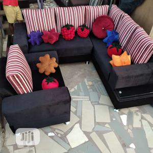 Modern Design L Shape With Single | Furniture for sale in Lagos State, Ibeju