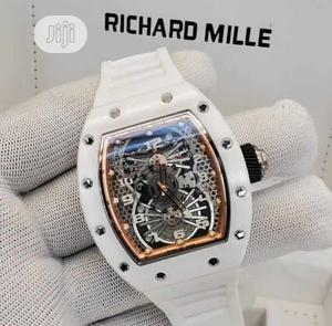 Top Quality Richard Mille Rubber Strap Watch | Watches for sale in Lagos State, Magodo