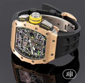 Top Quality Richard Mille Rubber Strap Watch   Watches for sale in Lagos State, Magodo