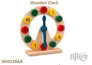 Wooden Clock | Home Accessories for sale in Lagos State, Surulere