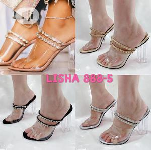 Ladies Transparent Heels Slippers | Shoes for sale in Lagos State, Lagos Island (Eko)