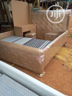 Modern 6 by 6 Bed Frame | Furniture for sale in Lagos State, Shomolu