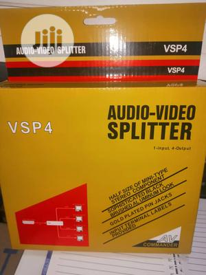 Av/Audio-Video Splitter 4 Port | Accessories & Supplies for Electronics for sale in Lagos State, Ikeja