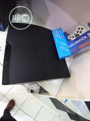 Sony Playstation 3 Slim UK Used +14 Games White Controller | Video Game Consoles for sale in Lagos State, Ajah