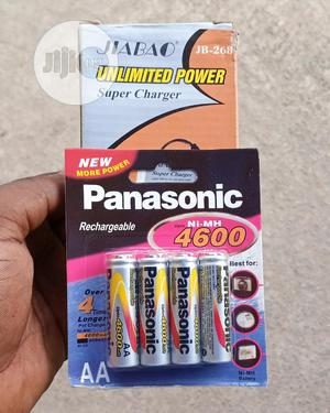 Rechargable Battery 4600mah And Charger, | Accessories & Supplies for Electronics for sale in Lagos State, Ikeja