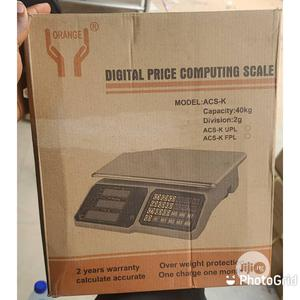 Orange 40kg Digital Weight Scale With 2years Warranty | Store Equipment for sale in Lagos State, Surulere
