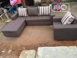 Modern Design L Shape With Single | Furniture for sale in Lagos State, Mushin