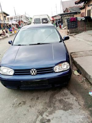Volkswagen Golf 2000 1.6 Blue   Cars for sale in Lagos State, Surulere