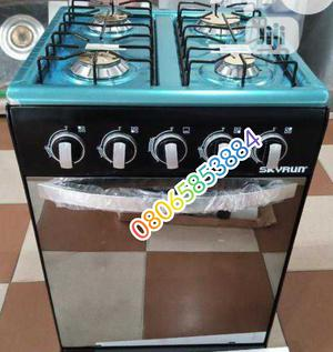 Brand New Skyrun All Gas 4burner Standing Gas With Oven 50cm | Kitchen Appliances for sale in Lagos State, Ojo