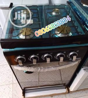 Brand New Skyrun Gas 4burner Blue Flame With Oven Warranty | Kitchen Appliances for sale in Lagos State, Ojo