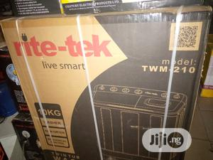 Rite Tek Washing Machine 10KG | Home Appliances for sale in Abuja (FCT) State, Wuse