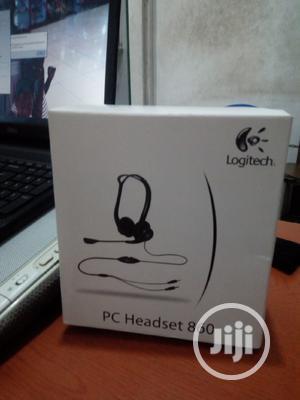 Logitech Stereo PC860 Headset | Headphones for sale in Lagos State, Ikeja