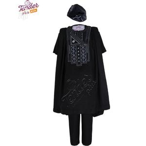 Tenderplus Kids Clothes-Boy Navy Blue Agbada With Embroidery | Children's Clothing for sale in Lagos State, Ojodu