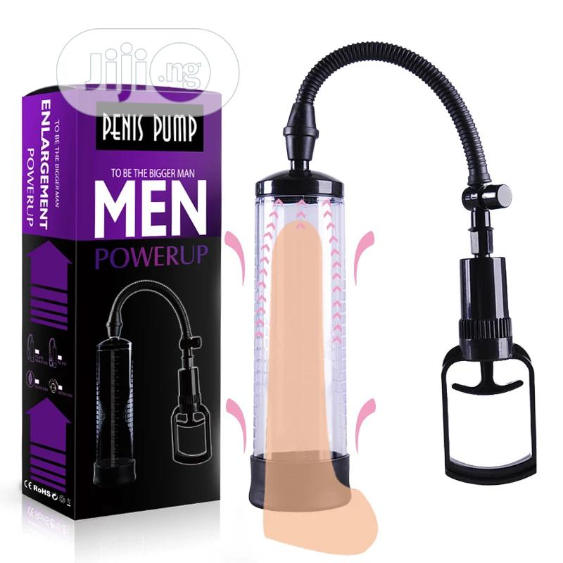 Penis Pump Enlargement Vacuum Dick Extender Men Device   Sexual Wellness for sale in Port-Harcourt, Rivers State, Nigeria