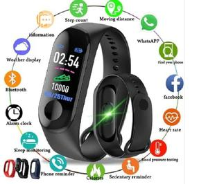Smart Bracelet Watch - Black | Accessories for Mobile Phones & Tablets for sale in Lagos State, Ikeja