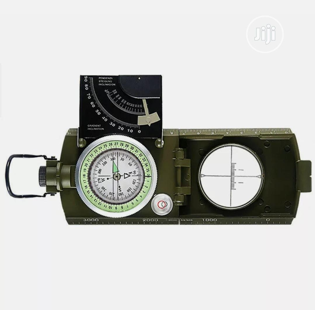 Professional Military Army Metal Sighting Compass