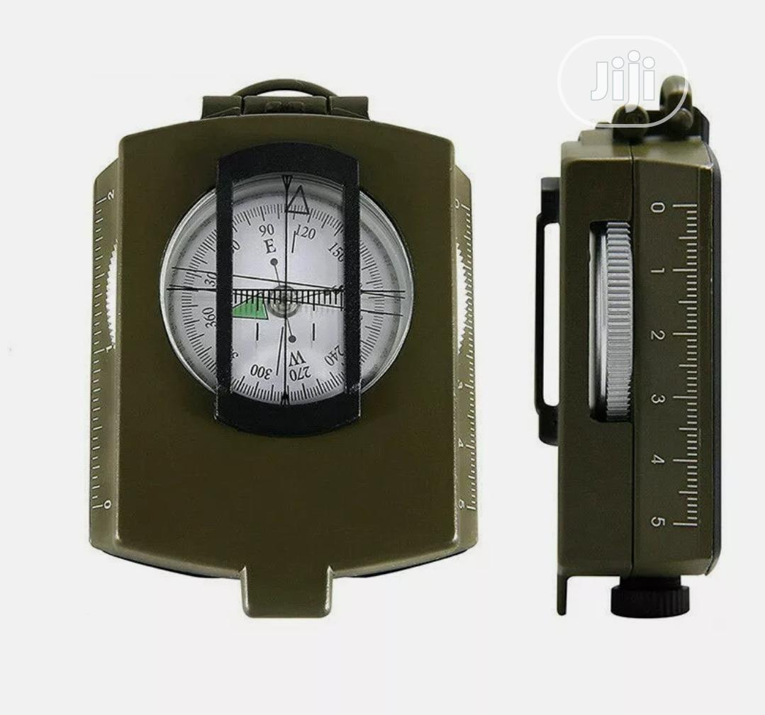 Professional Military Army Metal Sighting Compass | Camping Gear for sale in Ibadan, Oyo State, Nigeria