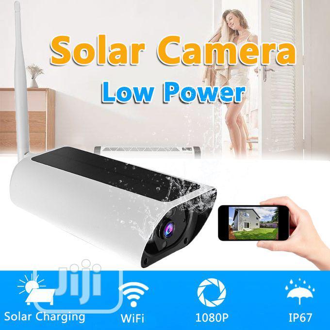 Night Vision 1080P HD Solar Powered Wireless WIFI IP Camera