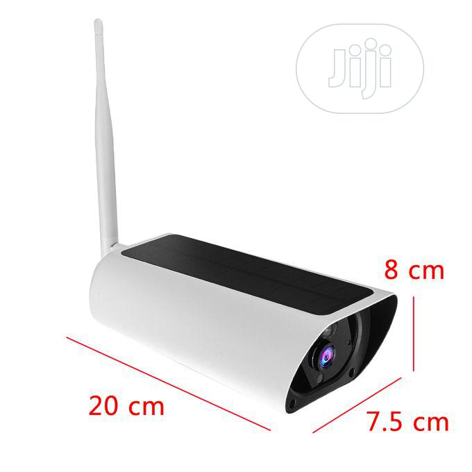 Night Vision 1080P HD Solar Powered Wireless WIFI IP Camera   Security & Surveillance for sale in Ajah, Lagos State, Nigeria