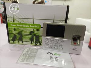 Zkteco Lx50 Fingerprint Time Clock, Bio Attendance Machine | Safetywear & Equipment for sale in Lagos State, Ikeja