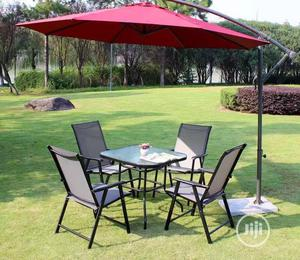 Set of Umbrella With Table and Chairs Very Strong | Furniture for sale in Lagos State, Ojo