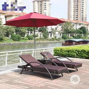 Swimming Pool Chairs With Umbrella Very Strong   Furniture for sale in Lagos State, Ojo
