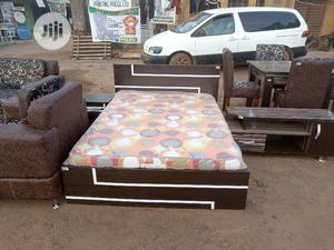4 And Half By 6 Fits Honorable Complete Bed   Furniture for sale in Lagos State, Ikorodu
