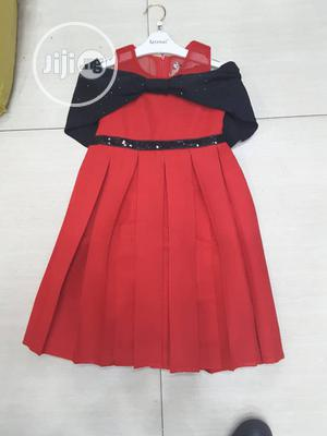 Girl Black/ Red Occasion Dress | Children's Clothing for sale in Lagos State, Yaba