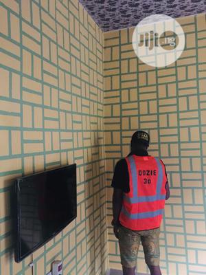 3d Wall Paper Installation   Repair Services for sale in Rivers State, Port-Harcourt