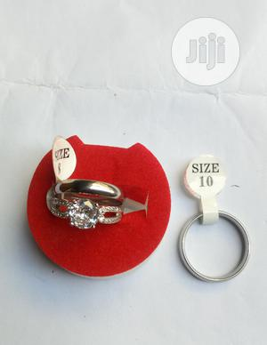 Silver Wedding Ring Set | Wedding Wear & Accessories for sale in Lagos State, Victoria Island