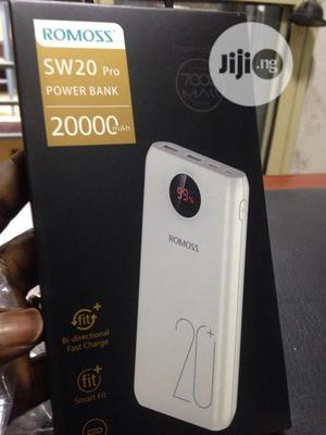 30000mah And 20000mah Romoss Power Bank | Accessories for Mobile Phones & Tablets for sale in Oyo State, Egbeda
