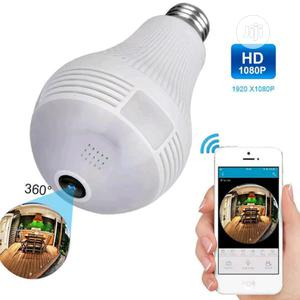 360 Degree View Bulb Camera | Security & Surveillance for sale in Rivers State, Port-Harcourt