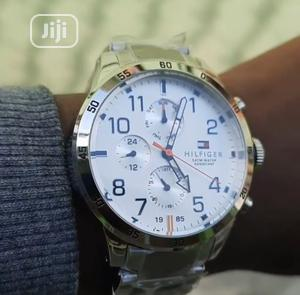 Top Quality Tommy Hilfiger Stainless Steel Watch | Watches for sale in Lagos State, Magodo