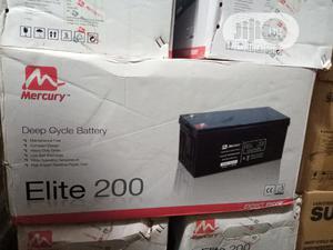 12v 200ah Elite Mercury Battery | Solar Energy for sale in Lagos State, Ojo