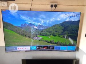 """Super Curved 65"""" Samsung Suhd Quantum Dot Curved Tv {KS8500   TV & DVD Equipment for sale in Lagos State, Ojo"""