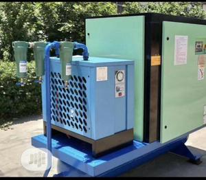 Screw Compressor Machine With Air Dryer Machine | Manufacturing Equipment for sale in Lagos State, Ojo
