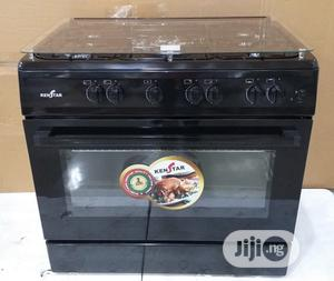 New Kenstar 60 by 90 4gas 2electric Auto Ignition Oven Grill | Kitchen Appliances for sale in Lagos State, Ojo