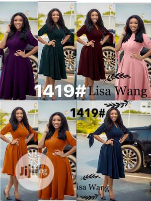 Trending Female Flare Coprratr Gown | Clothing for sale in Lagos State, Lagos Island (Eko)