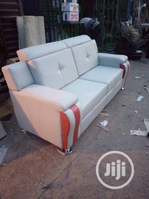 7 Seater Leather Sofa   Furniture for sale in Lagos State, Victoria Island