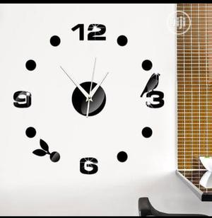 3D Acrylic Modern Wall Sticker Clock | Home Accessories for sale in Lagos State, Ikeja