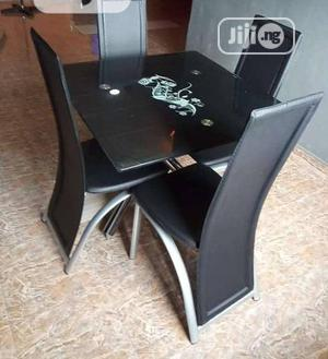 Simply Glass Dining Table by 4   Furniture for sale in Lagos State, Ojo