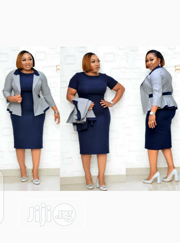 New Classic Female Turkey Gown With Jacket | Clothing for sale in Isolo, Lagos State, Nigeria