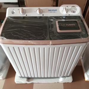 Skyrun 7kg Wash And Spin Semi Automatic Washing Machine | Home Appliances for sale in Lagos State, Magodo