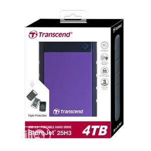Transcend 4TB USB 3.1 Gen 1 Storejet 25H3B SJ25H3B Harddrive | Computer Hardware for sale in Lagos State, Ikeja