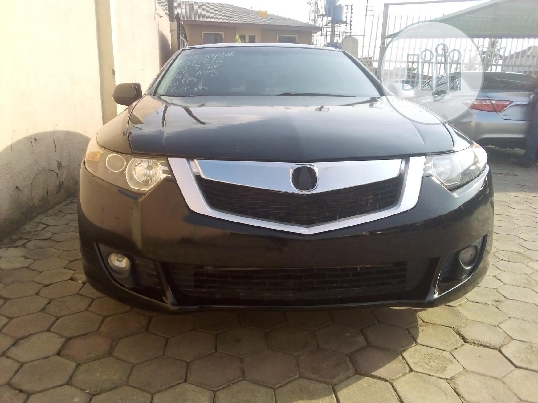 Acura TSX 2009 Black