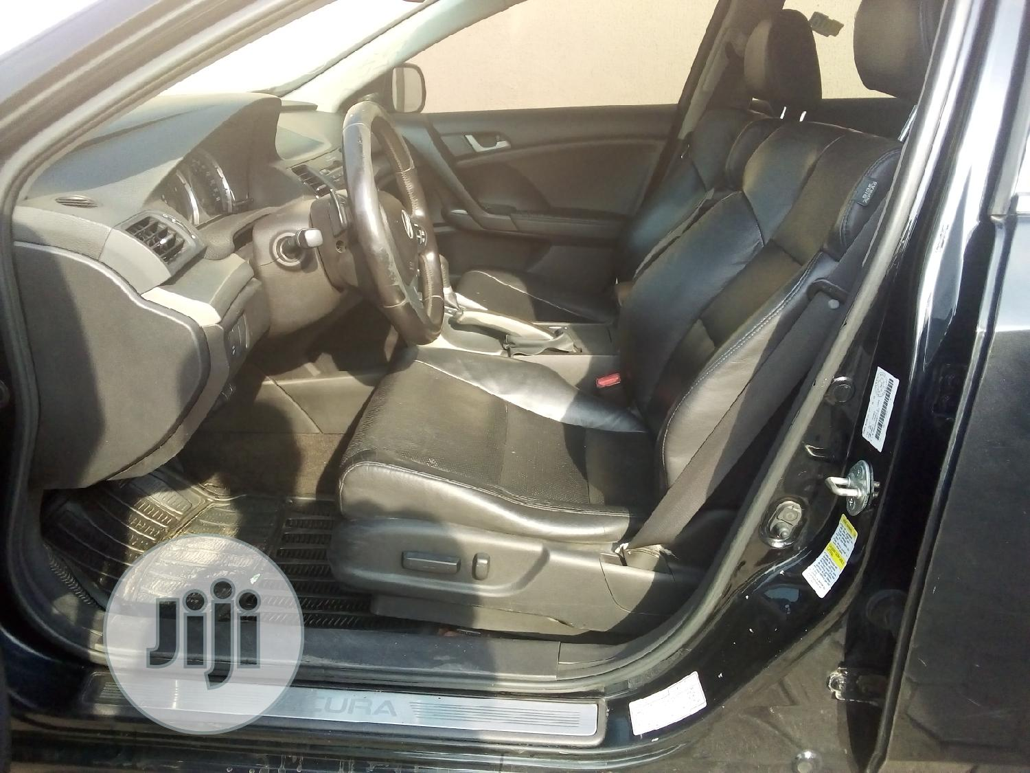 Acura TSX 2009 Black | Cars for sale in Ikeja, Lagos State, Nigeria