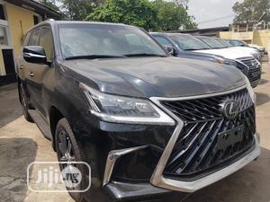 New Lexus LX 2020 570 Three-Row Black | Cars for sale in Lagos State, Shomolu